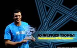 Jo-Wilfried Tsonga Paris Masters 2008 Widescreen
