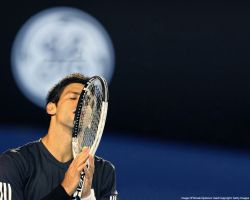 Novak Djokovic Moon Prayer