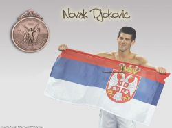 Novak Djokovic Olympic Bronze 2008